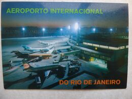 AEROPORT / AIRPORT / FLUGHAFEN / AEROPORTO   RIO DE JANEIRO GALEAO  /  BRESIL - Aérodromes