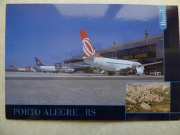 AEROPORT / AIRPORT / FLUGHAFEN / AEROPORTO   PORTO ALEGRE  /  BRESIL - Aérodromes