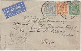 """KENYA UGANDA : DE """" KARAMEGA """" . POUR PARIS . 1934 . - Kenya & Uganda"""