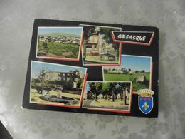 CARTE  POSTALE DE  GREASQUE  ( BOUCHES  DU  RHONE ) - 5 - 99 Postales