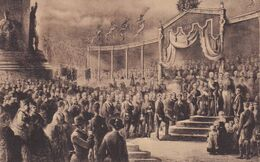 Den Haag - Willemspark 17 November 1869 Onthulling Nationale Monument - Den Haag ('s-Gravenhage)