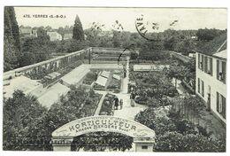 CPA - 91 - YERRES - Horticulteur Amédée BERGERE - Entreprise De Jardins - Yerres