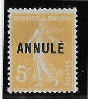 France Cours D'Instruction N°158 CI 1 - Nuance Très Pâle - Neuf * Avec Charnière - TB - Instructional Courses
