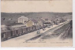 GILLEY : La Gare - Vue D'ensemble (rare En Couleur) - Très Bon état - Sonstige Gemeinden