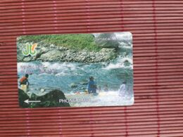 Phonecard Jamaica CONTROL NUMBER 6JAMH Used Rare - Giamaica
