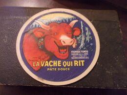 Ancienne étiquette De Fromage Vache Qui Rit Année 50 - Formaggio