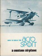 Acro Airplane Flugzeug Avion Manual Notice Manuel - Manuals