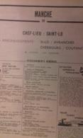 ANNUAIRE - 50 - Département Manche - Année 1964 - édition Didot-Bottin - Telefonbücher