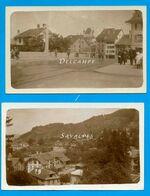 Suisse Thoune * Thun - 2 Photos Originales 1923 - Voir Scans - Luoghi