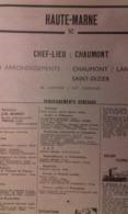 ANNUAIRE - 52 - Département Haute Marne - Année 1964 - édition Didot-Bottin - Telefonbücher