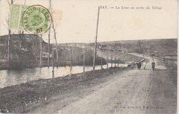 """1907 Han Sur Lesse """"  La Lesse Au Sortir Du Village """"  Vers Dom Le Mesnil - Dinant"""