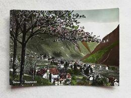 Cartolina Illustrata Varzo - Panorama, Viaggiata Per Agropoli 1956 - Other Cities