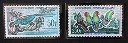 REPUBLIQUE CENTRAFRICAINE - Oiseaux - Perroquets - PA 6-7 - Zentralafrik. Republik