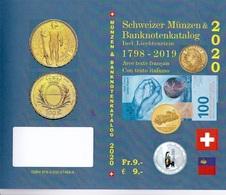 SCHWEIZER MÜNZEN & BANKNOTENKATALOG 1798-2019  Ausgabe 2020 Dreisprachig (dt+fr+it) Trilingual ISBN 978-3-033-07464-4 - Literatur & Software