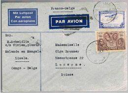 Congo Belge, 1938, Lisala-Lucerne - Congo Belge