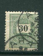 HONGRIE- Y&T N°33 (A)- Oblitéré - Gebruikt