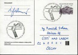 58327 Slovensko , Special Postmark 1993  Volleyball Juniores  Bratislava - Volleyball