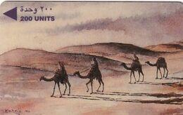 BAHRAIN(GPT) - Camel Caravan, CN : 3BAHD/B, Used - Bahrein