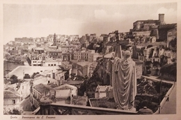 Cartolina - Gaeta - Panorama Da S. Erasmo - 1950 Ca. - Latina