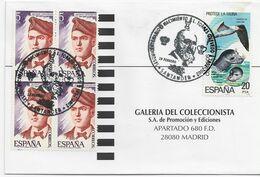 3552   Carta Santander 2002,  Centenario Del Nacimiento  Leonardo  Torres Quevedo, - 1931-Aujourd'hui: II. République - ....Juan Carlos I