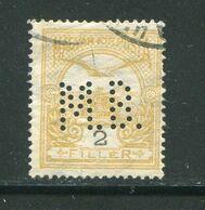 HONGRIE- Y&T N°90 (I)- Oblitéré Et Perforé - Hungría