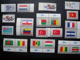 UN  LOT DE 40 TIMBRES POSTE DES NATIONS UNIES NEUFS - Non Classificati