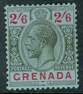GRENADA 1929 KGV 2s6d Wmk Script CA SG 131 Lightly Mounted Mint - Grenada (...-1974)