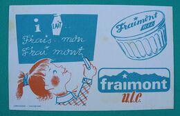 """Ancien Buvard Publicitaire """" FRAIMONT """" - Leche"""
