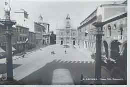 Cartolina - Ravenna - Piazza Vittorio Emanuele - 1940 Ca. - Ravenna