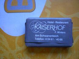 Hotel Restaurant Kaiserhof F Winters   Soap - Materiale Di Profumeria