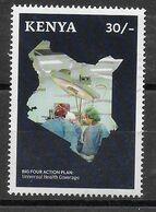 KENIA - 2019 - PROGRAMMA DI SVILUPPO - SANITA' - 30/- - USATO - Kenya (1963-...)