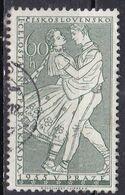 Cecoslovacchia, 1955 - 60h Dancing Couple - Nr.976 Usato° - Usati