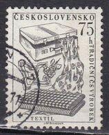 Cecoslovacchia, 1956 - 75h Tetiles - Nr.739 Usato° - Czechoslovakia