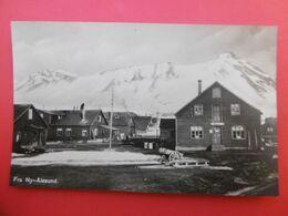 NORWAY NORVEGE FRA NY ALESUND BUTIK CARTE PHOTO CACHET KINGS BAY SPITSBERGEN - Norwegen