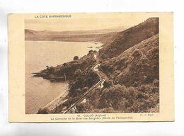 ALGERIE - LA COTE BARBARESQUE - COLLO - La Corniche De La Baie Des Sangliers ( Route De  Philippeville ) - Andere Städte