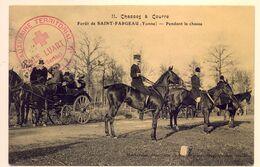 Rare Cachet Hôpital Auxiliaire N°1 Le Luart (Sarthe) 17/02 1915 Seulement Avec 20 Lits 2 Scans - WW I