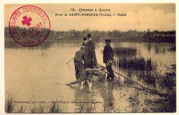 Rare Cachet Hôpital Auxiliaire N°1 Le Luart (Sarthe) 22/02 1915 Seulement Avec 20 Lits 2 Scans - WW I