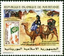 Mauretanien Mauritanie Mauritania 2000 Independence Unabhängigkeit Camel Stamp On Stamp Mnh - Mauritania (1960-...)