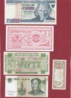 Pays Du Monde 20 Billets En UNC Lot N °2 - Alla Rinfusa - Banconote