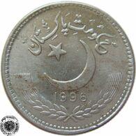 LaZooRo: Pakistan 25 Paisa 1996 XF / UNC  Not In Krause - Pakistan