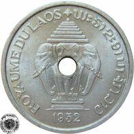 LaZooRo: Laos 20 Cents 1952 XF / UNC - Laos