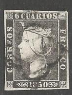Spanien Michel Nummer 1 Gestempelt - 1850-68 Kingdom: Isabella II