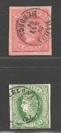 Spanien Michel Nummer 56+57 Gestempelt - 1850-68 Kingdom: Isabella II