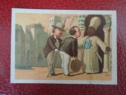 CHROMO  Appel. Voyage En Egypte.  Publicité  Patisserie Jeanson à Troyes. - Non Classificati
