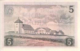 ICELAND P. 37b 5 K 1957 UNC - Islanda