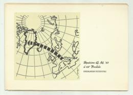 SPEDIZIONE  G.M. 60 AL 66o PARALLELO   ILLUSTRAZIONE  SERGIO  - NV  FG - Ansichtskarten