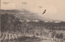 CARTOLINA VIAGGIATA 1916 PIAZZE-CETONA- SIENA (KP974 - Siena