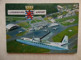 AEROPORT / AIRPORT / FLUGHAFEN     LUXEMBOURG - Aeródromos