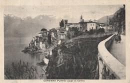 CARTOLINA VIAGGIATA CORENNO PLINIO LAGO COMO (KP1327 - Como