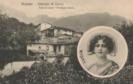 CARTOLINA NON VIAGGIATA ACQUATE CASA DI LUCIA (KP1336 - Lecco